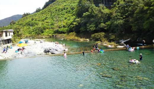 [四国]おすすめの川遊び・泳ぎ・滝まとめ!飛び込みやターザンロープも