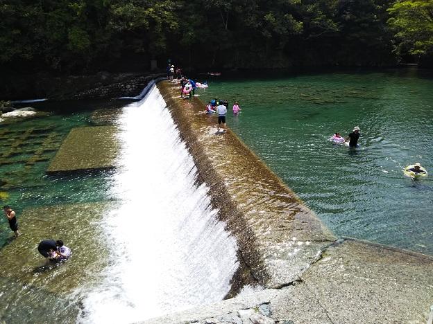 汗見川 滝