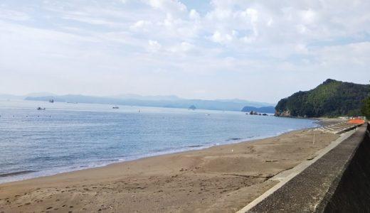 北の脇海水浴場 徳島県阿南市の日本の渚・百選ととくしま88景に認定