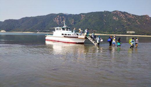 岡山県のおすすめ潮干狩り 大あさりやマテ貝やタイラギ貝や穴ジャコ等が取れる