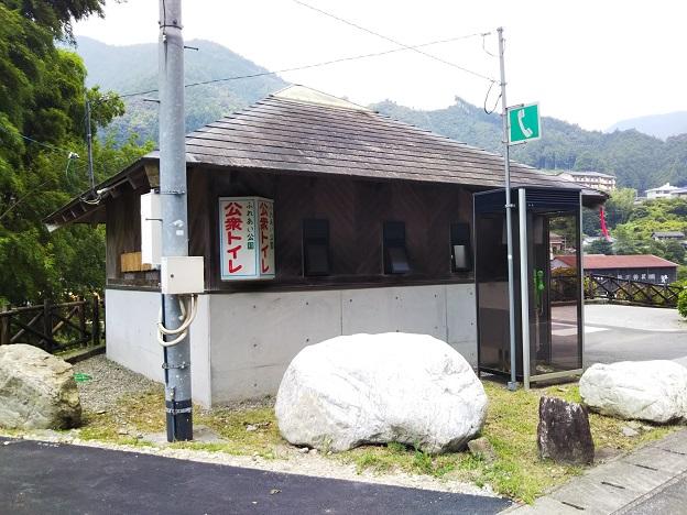 仁淀川 オートキャンプ場トイレ