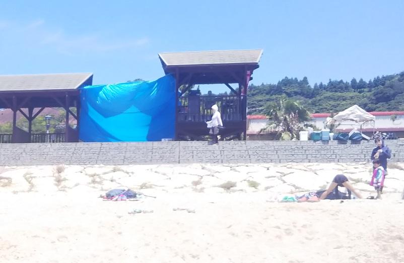 スプラッシュ ザ ビーチ中島 監視塔