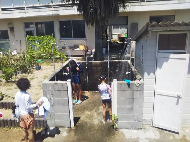 姫ヶ浜海水浴場 シャワー