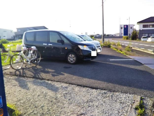 前田のコロッケ 駐車場