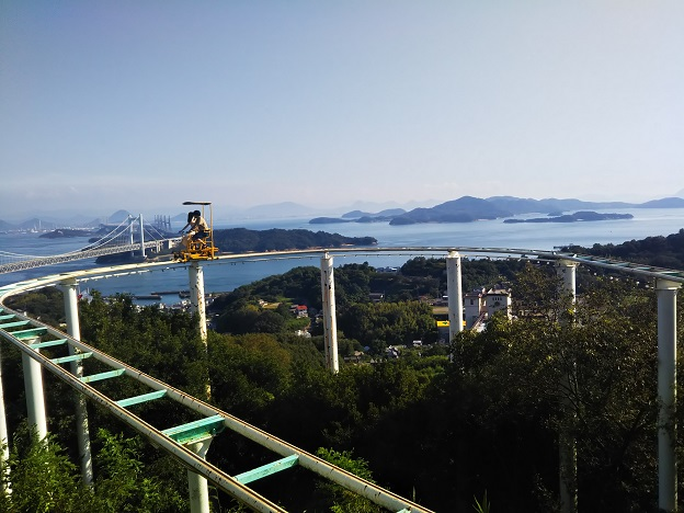 鷲羽山ハイランド スカイサイクル