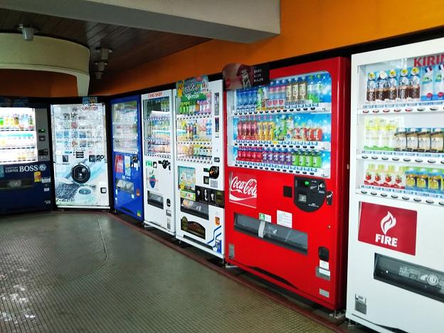 イヨテツプール 自動販売機3