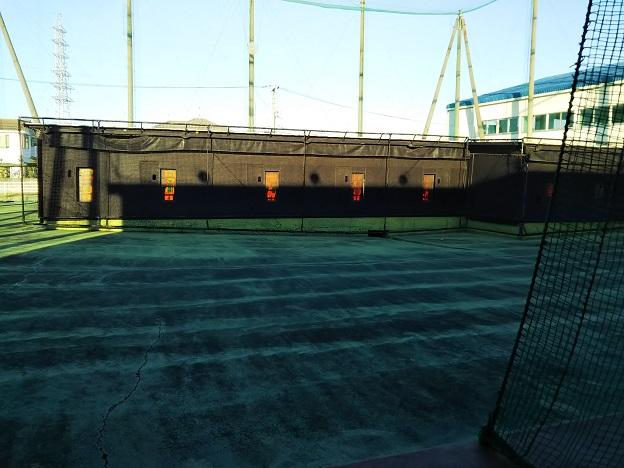 観音寺バッティング・オートテニスセンターのネット