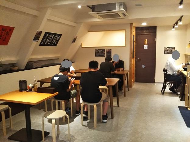 麺やKEIJIRO 店内