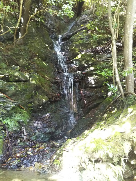 鞍瀬川 滝