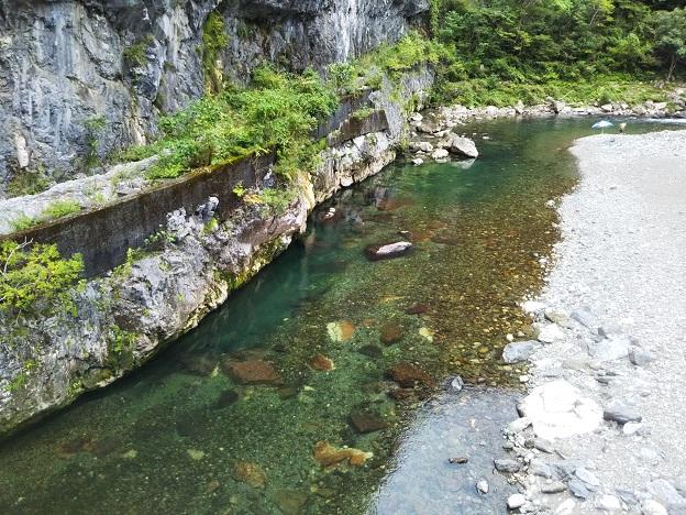 鏡川の清流
