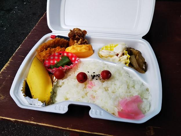 四国ライオンアドベンチャーの弁当