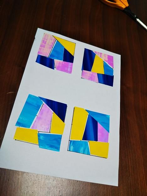 グラスアート体験 5
