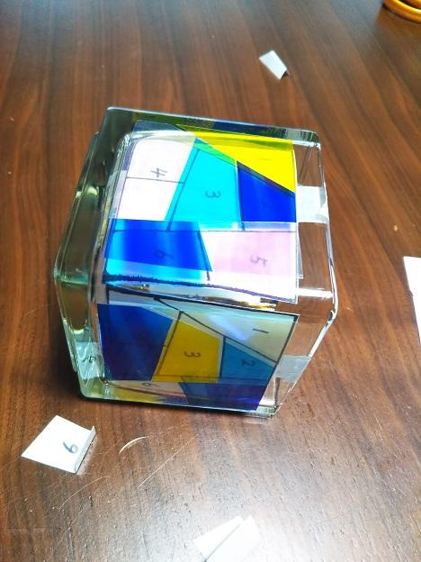 グラスアート体験 7