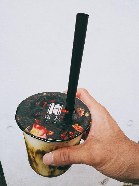 伍茶 抹茶ミルク2