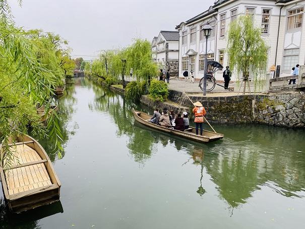 くらしき川舟流し倉敷美観地区