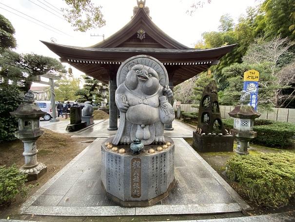 狸 八福縁起田村神社