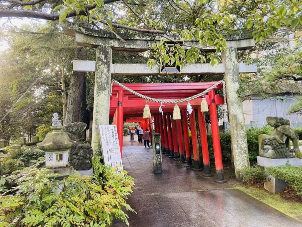 北参道入口田村神社
