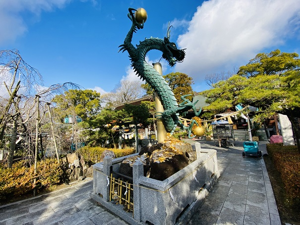 昇運金龍田村神社