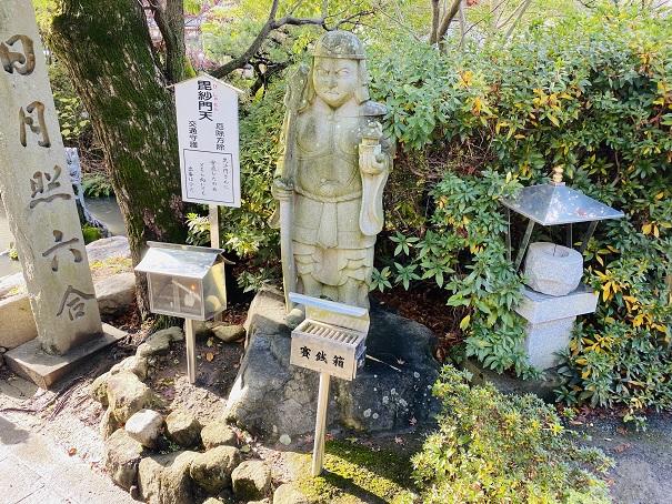 毘沙門天田村神社