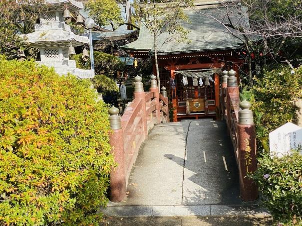 宮島大はし田村神社