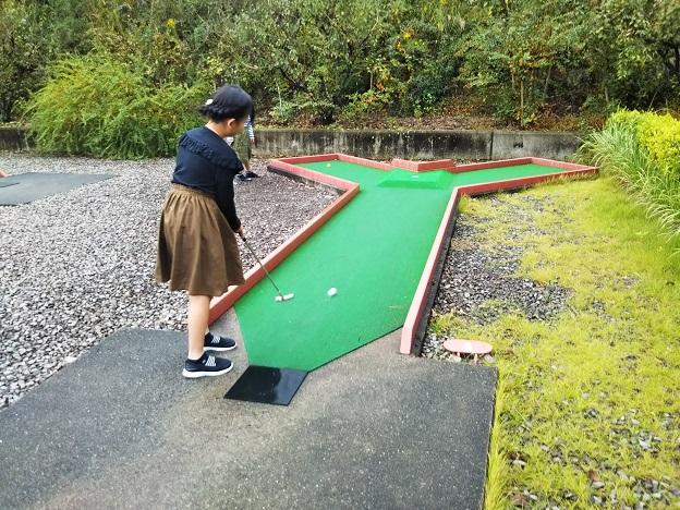パットゴルフ丘ありコース