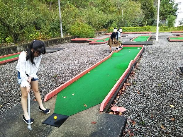 山ありコースパットゴルフ