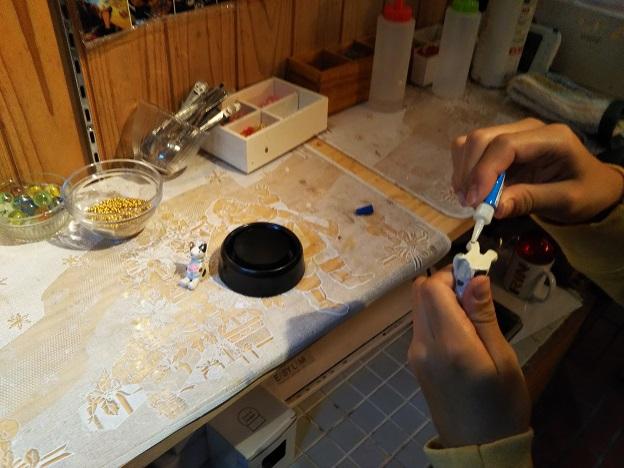 スノードーム作り 1