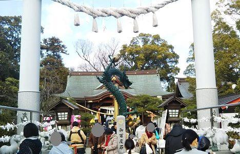 讃岐国一宮 田村神社 初詣に行くなら高松市の楽しめる田村神社