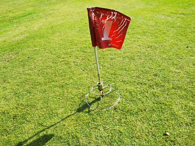 グラウンドゴルフのカップ
