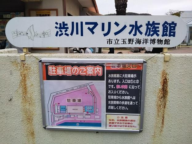 渋川マリン水族館 駐車場