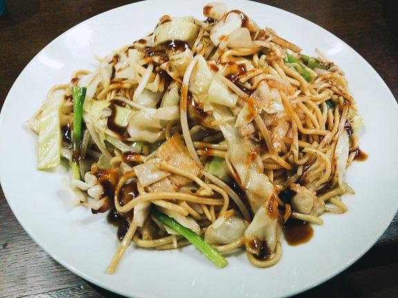 焼きチャンポン麺大