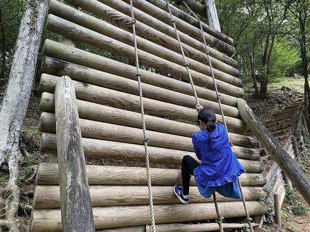 アスレチック 徳島県立神山森林公園イルローザの森