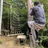 イルローザの森 アスレチック 徳島県立神山森林公園