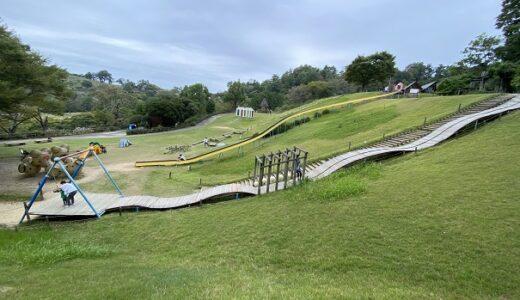 徳島県立神山森林公園イルローザの森 バーベキュー 遊具 木馬 迷路 つみき 水遊び テーブルジム