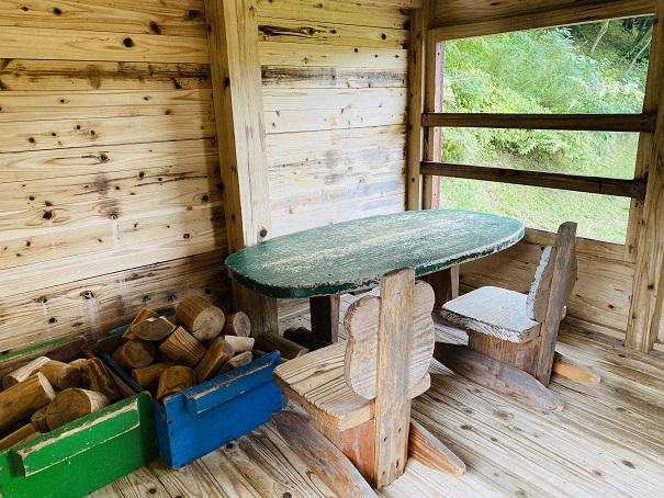 ミニハウス(子供サイズの家)積み木ハウス