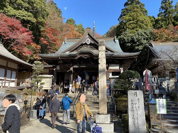 大窪寺の本堂