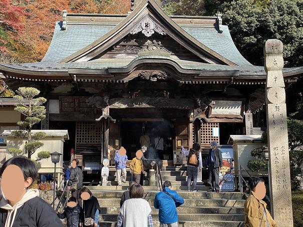 大窪寺正月の初詣