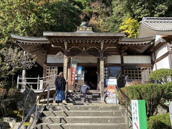 大窪寺の本堂納経所