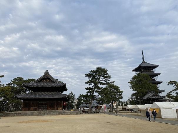 総本山善通寺中門からの風景