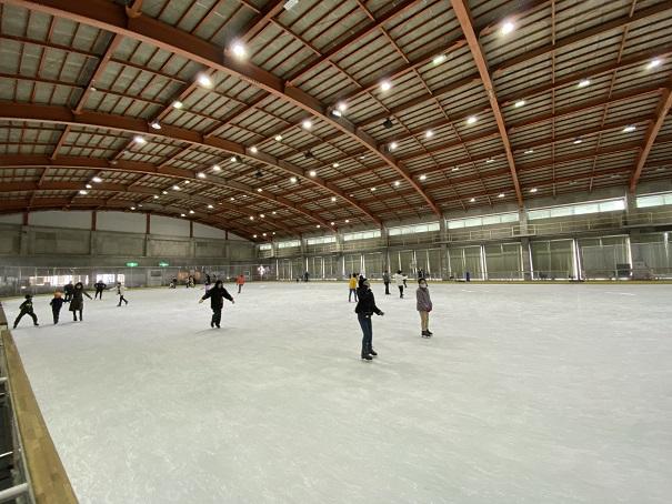 アイススケートリンクトレスタ白山アイスアリーナ