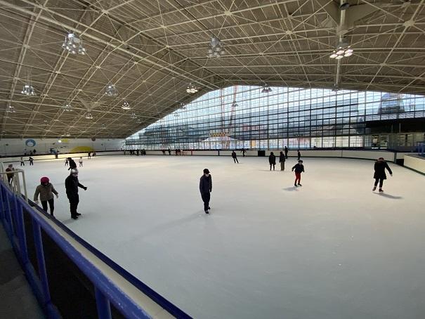イヨテツスポーツセンターアイススケート