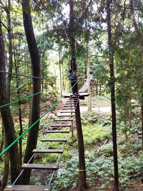 冒険の森ひるぜん アドベンチャーコース1-1