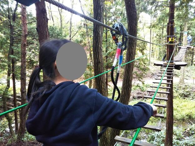 冒険の森ひるぜん ハーネスの使い方2