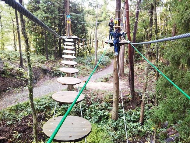 冒険の森ひるぜん アドベンチャーコース1-3