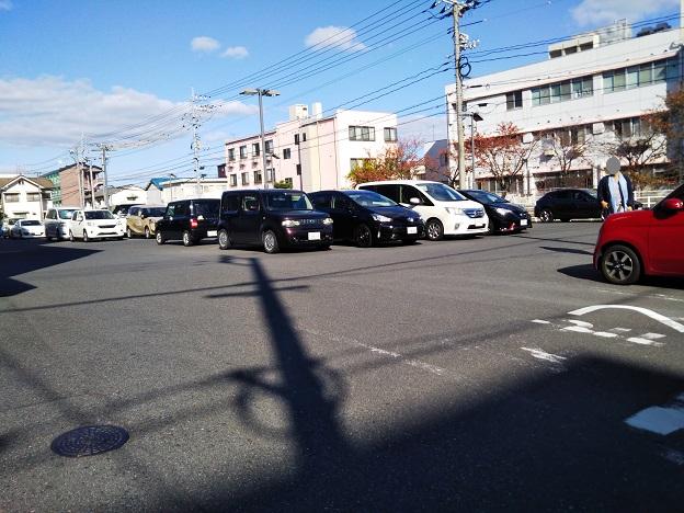 岡山国際スケートリンク 駐車場