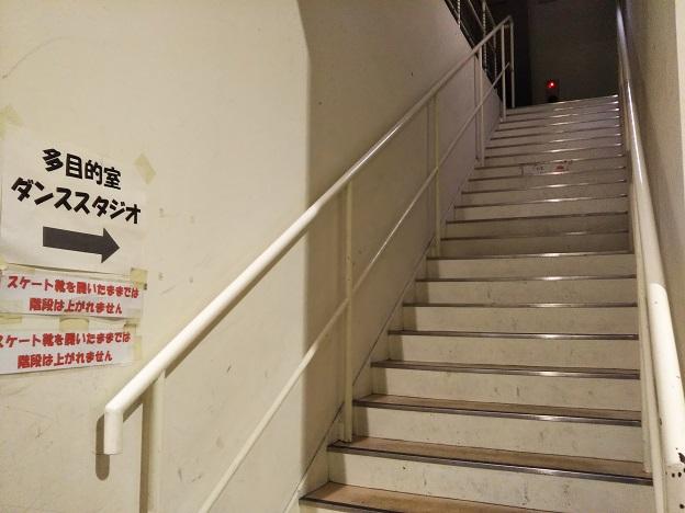 岡山国際スケートリンク 2階