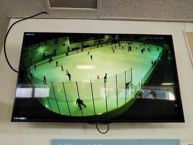 岡山国際スケートリンク 映像