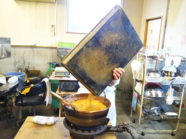 たんきり飴作り体験 2