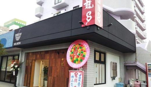 中国麺青龍 宇多津町にオープンしたラーメン屋