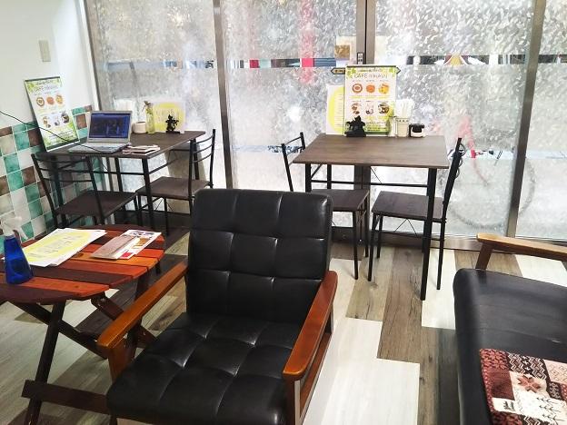 肉灸 カフェスペース